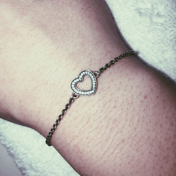 Pandora Jewelry Symbol Of Love Bracelet Poshmark